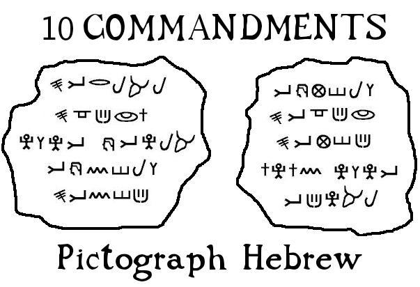 10-commandments-pictograph-hebrew